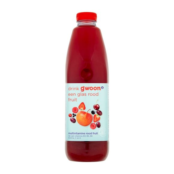 g'woon Multivitamine rood fruit product photo