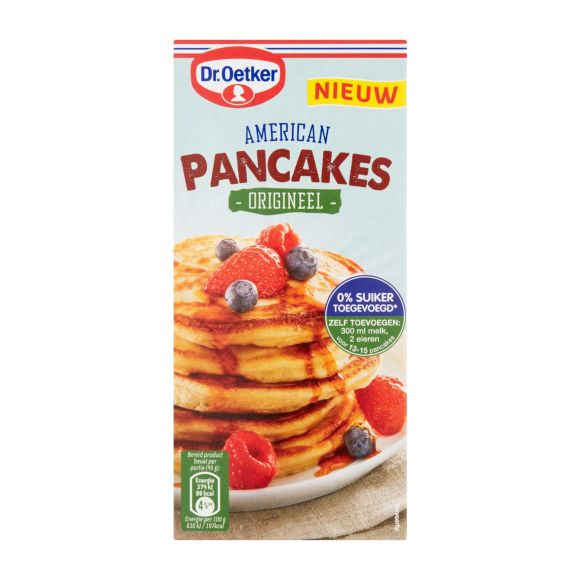 Dr. Oetker American pancakes product photo