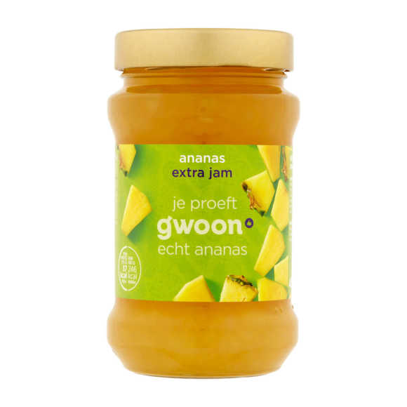 g'woon Extra jam ananas product photo