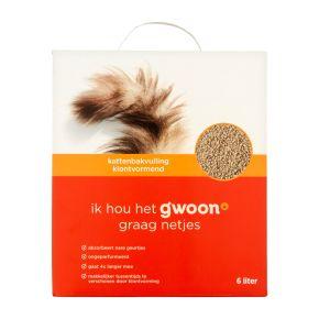 g'woon Kattenbakvulling 6 liter product photo