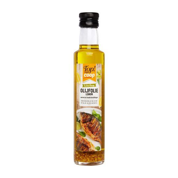 Olijfolie met citroen product photo