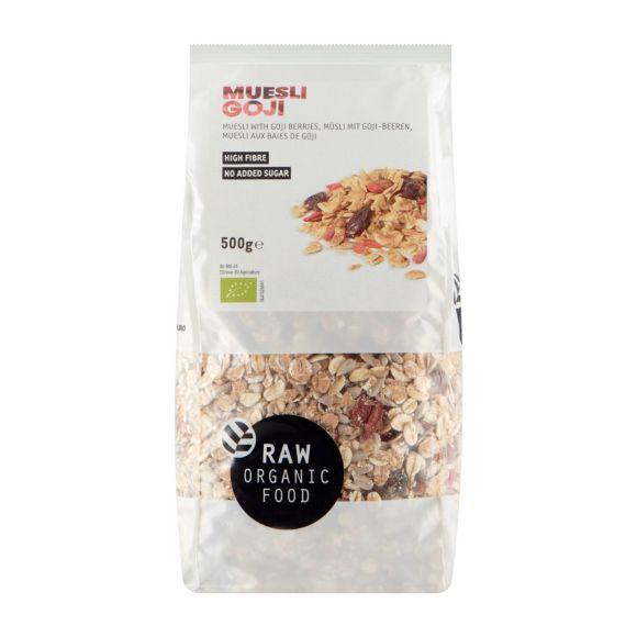 RAW Organic Food Muesli Gojibes product photo
