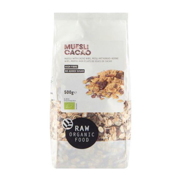 RAW Organic Food Muesli cacao product photo