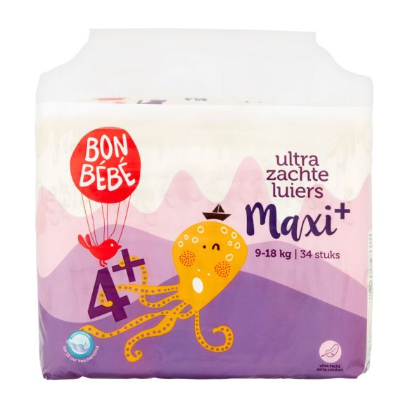 Bonbebe Luiers 4+ maxi product photo
