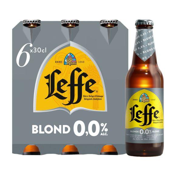 Leffe Blond 0.0 fles 6 x 30 cl product photo