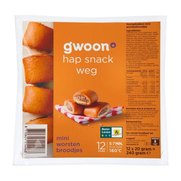 g'woon Mini worstenbrood product photo
