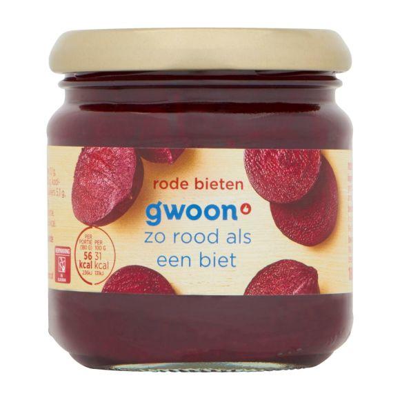 g'woon Rode bieten zoetzuur product photo