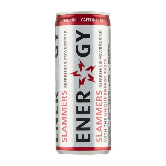 Slammers Energy drink blik product photo