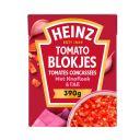 Heinz Tomaten blokjes met knoflook product photo