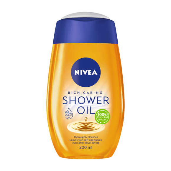 Nivea Rich Caring douche olie product photo