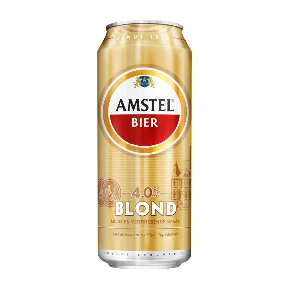 Amstel Blond bier blik 50cl product photo