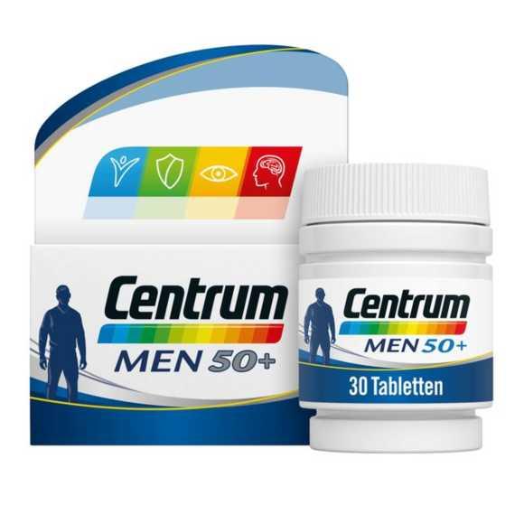 Centrum men 50+ multivitaminen  tabletten product photo