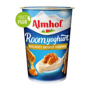 Almhof roomyoghurt walnoot Griekse honing product photo