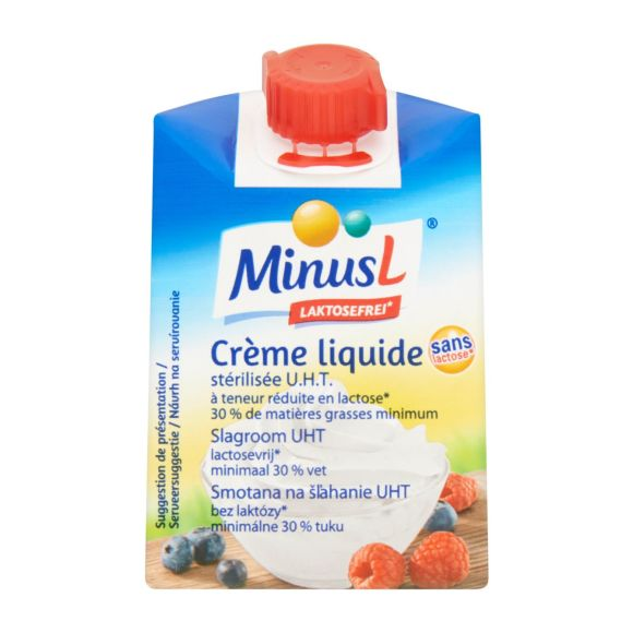 Minus L Slagroom lactosevrij product photo