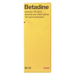 Betadine Oplossing (100 mg/ml) product photo
