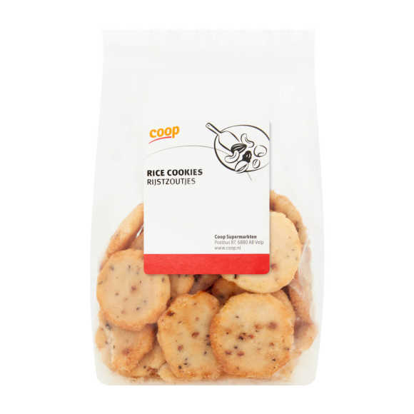 Coop Rice cookies product photo