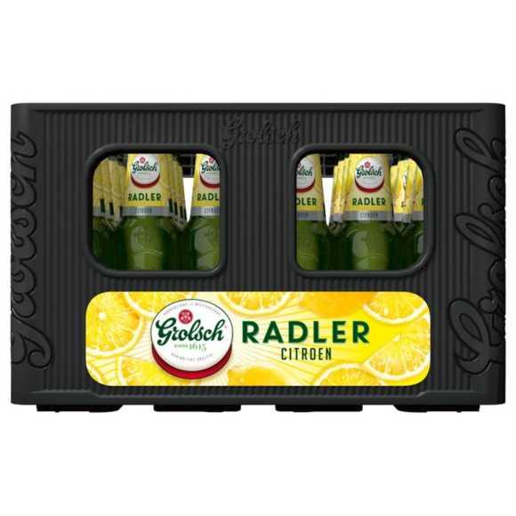 Grolsch Radler citroen bier krat 24 x 30 cl product photo