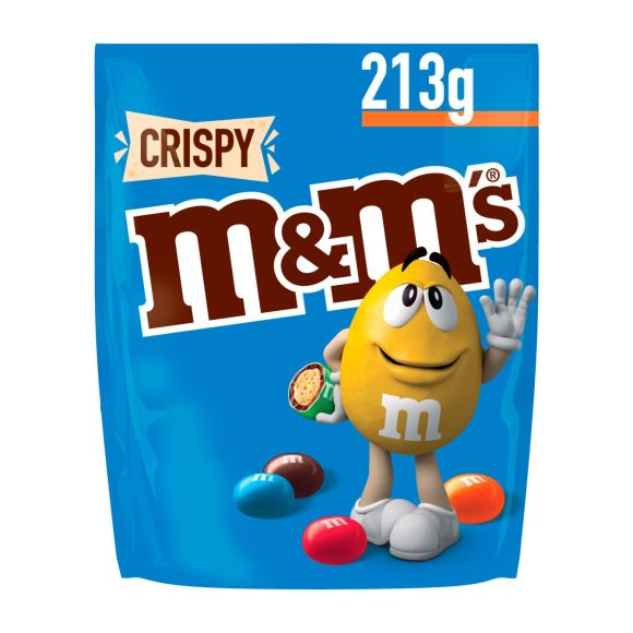 M&M'S Crispy chocolade - 213 g product photo