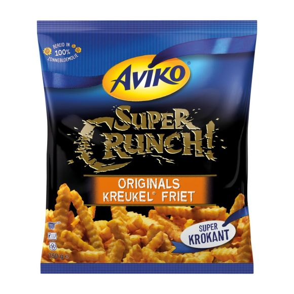 Aviko Supercrunch originals kreukel friet product photo