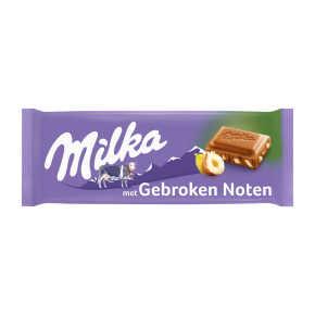 Milka Gebroken noot product photo