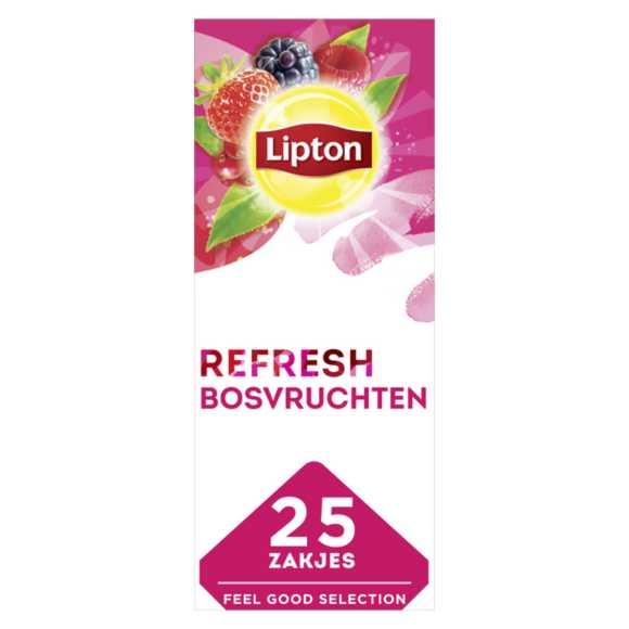 Lipton Feel good zwarte thee bosvruchten product photo