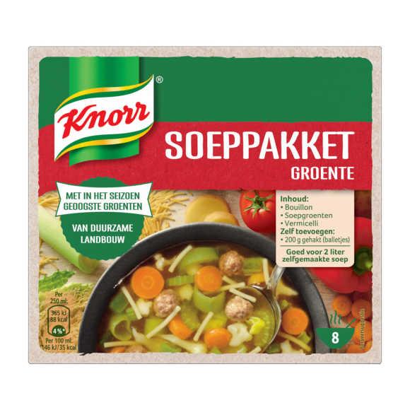 Knorr  Soeppakket groente Soep product photo