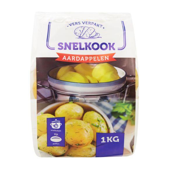 Snelkook aardappelen product photo