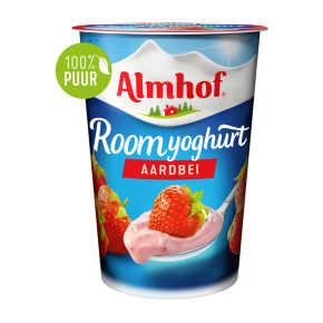 Almhof roomyoghurt aardbei product photo