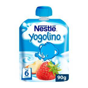 Nestlé Knijpzakje appel aardbei product photo