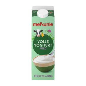 Melkunie Volle yoghurt product photo