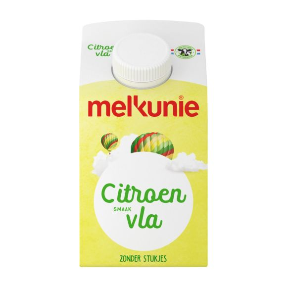 Melkunie Citroen vla product photo