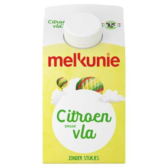 Melkunie Citroen vla product photo