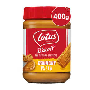 Lotus Biscoff speculoos pasta crunchy product photo