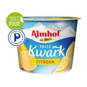 Almhof volle kwark citroen product photo