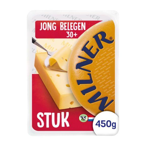 Milner Jong belegen 30+ kaas stuk product photo