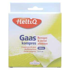HeltiQ Gaaskompres small 5 x 5 cm product photo