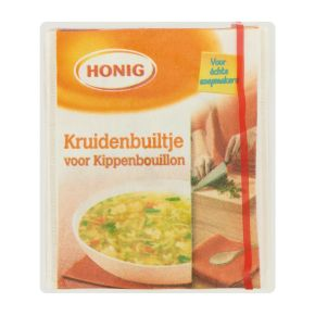 Honig Kruidenbuiltje voor Kippenbouillon 13 g Multi-pack product photo