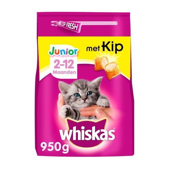 Whiskas Junior met kip 2-12 maanden product photo