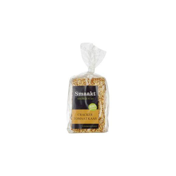 Smaakt Crackers tomaat & kaas biologisch product photo