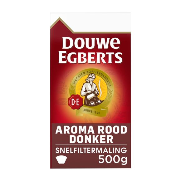 Douwe Egberts Aroma rood donker filterkoffie product photo
