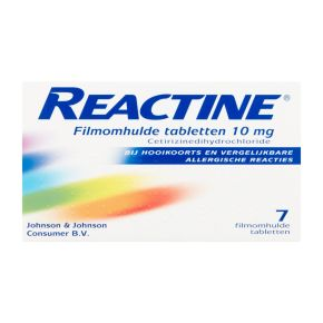 Reactine Tabletten 10 mg product photo