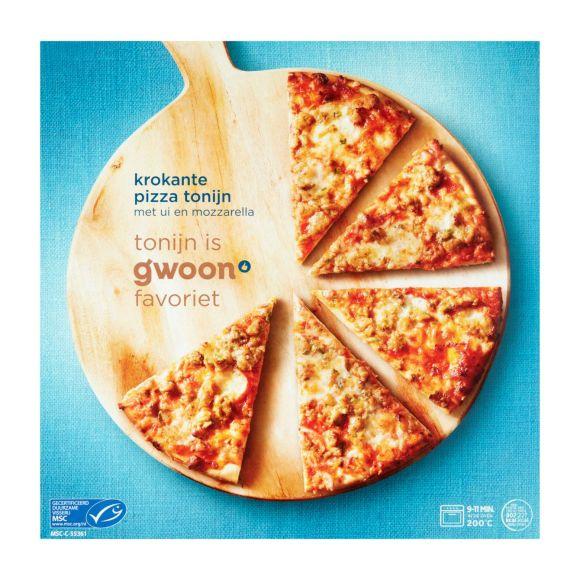 g'woon Pizza tonijn product photo