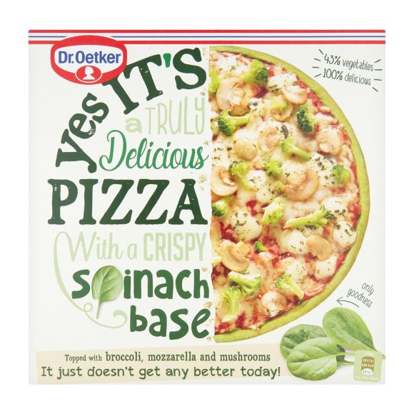 Dr. Oetker Yes it´s Pizza Spinach Crust product photo
