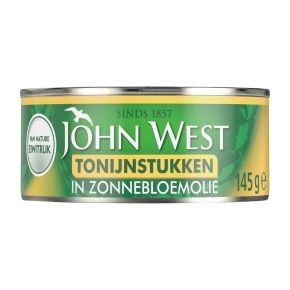 John West Tonijnstukken in zonnebloemolie product photo