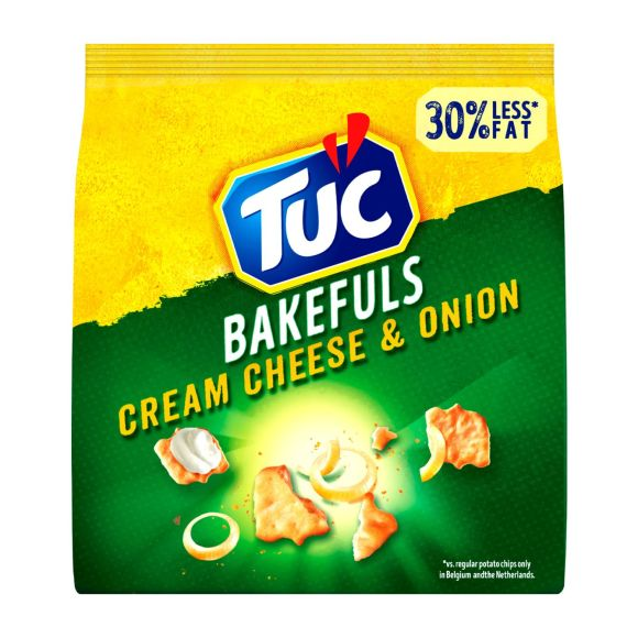 TUC Bakefuls zoutjes cream cheese & onion product photo