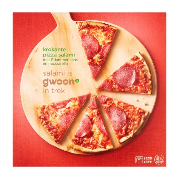 g'woon Pizza salami product photo