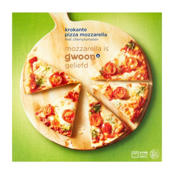 g'woon Pizza mozzarella product photo