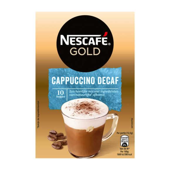 Nescafé Cappuccino cafeïnevrij product photo