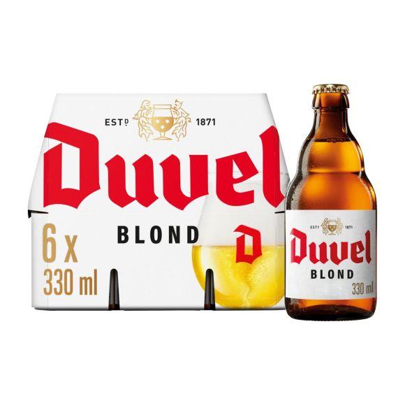 Duvel Bier fles 6 x 33 cl product photo