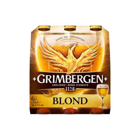 Grimberger Blond bier fles 6 x 30 cl product photo